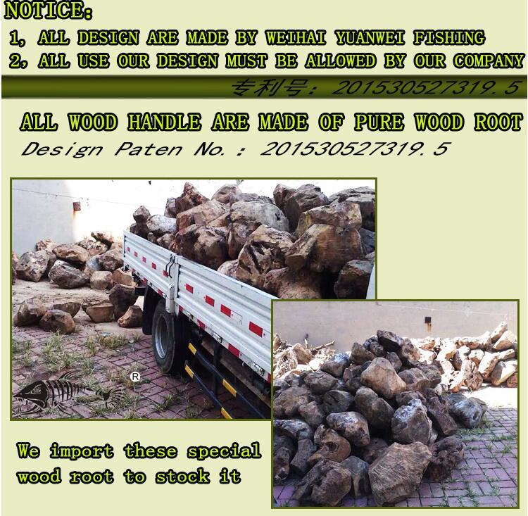 potência raiz de madeira mão im8 vara de isca de carbono vara vara