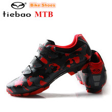 TIEBAO Cycling Shoes Mountain Bike Shoes 2018 zapatillas deportivas mujer Outdoor Racing Professional Spinning MTB Bicycle Shoes