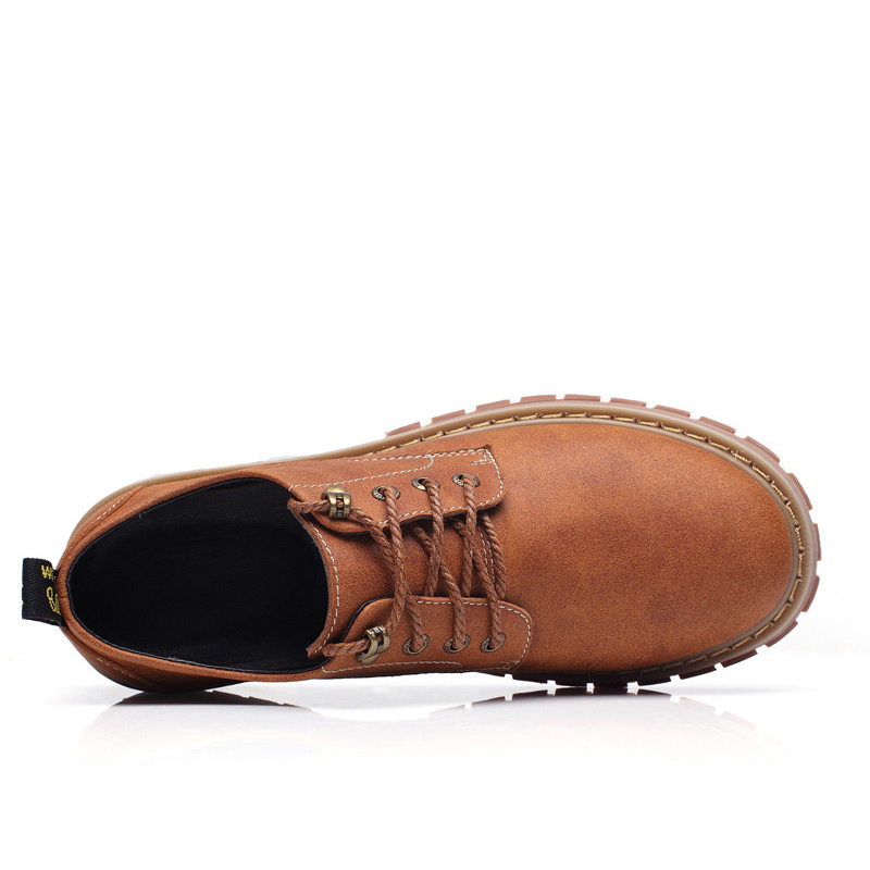 Solide Doux Offre marron Coudre Chaussures Spéciale À Bout 2019 kaki Lacent Mens Zéro Mode Hommes Rond Tailles Grandes Plus Casual Noir qzHwFv