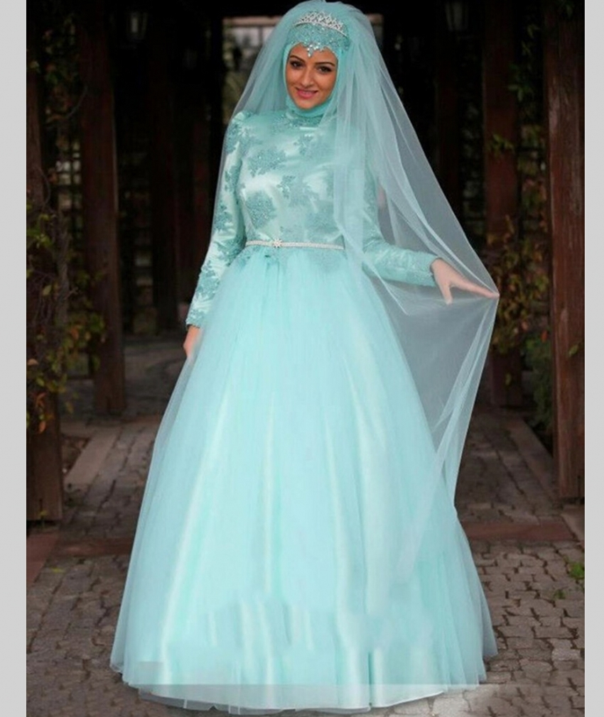 Aliexpress buy china arab long sleeve muslim hijab islamic aliexpress buy china arab long sleeve muslim hijab islamic wedding dress ball gown wedding gowns from reliable wedding gowns suppliers on bridal ombrellifo Image collections