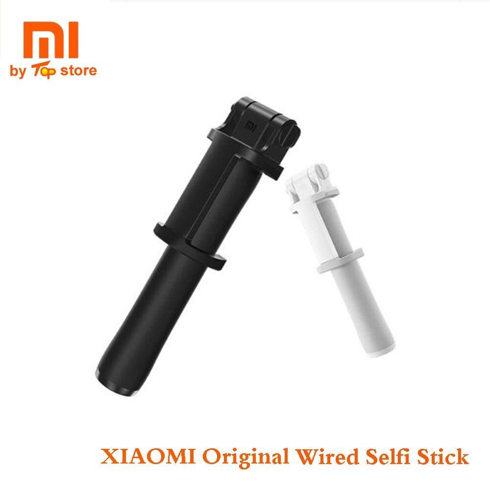 Original Xiaomi Xiomi Mi Erweiterbar Selfiestick Hand Wired Einbeinstativ Selfie Stick für IOS Android SmartPhone Pau de Selfie