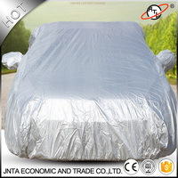 High Quality Teffeta Silver Car Covers Four Seasons Universal Suncreen Waterproof And Dustproof