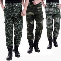 Men Outdoor Sports Camouflage Hiking Pants Hot Military And Tactical Pants New Army Fishing Camping Trekking