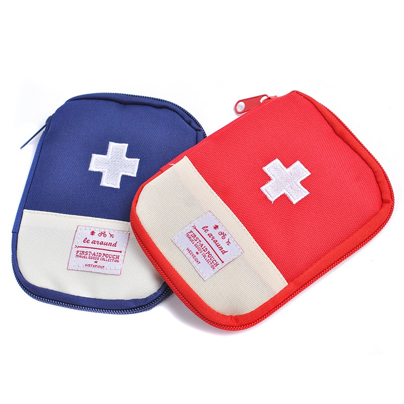 Storage-Bag Medicine Small Outdoor Portable First-Aid Travel Mini Camping Emergency