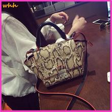 Snake pattern lock handbags European and American big shoulder women's bag handbag 2015 new bat 4