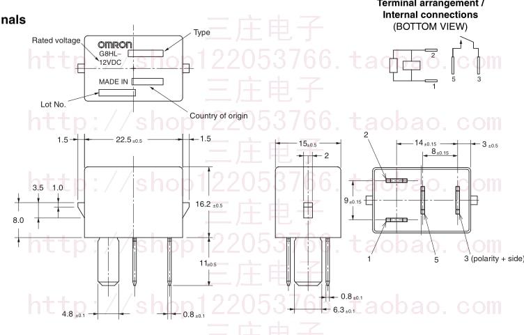 Omron Relay Wiring Diagram G8hl H71 - Wiring Diagram List on