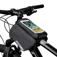 DSGS ROSWHEEL Bicycle Front Top Tube Frame Bag Touch Screen Waterproof Storage Pack