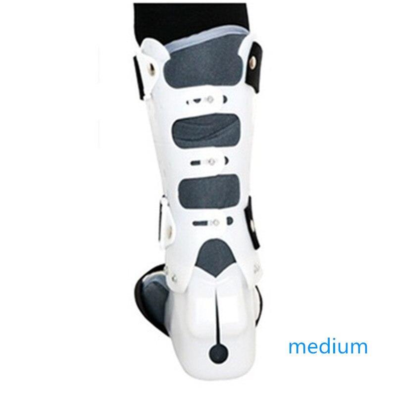 0 120 grad Einstellbar Klapp Knie Bein Brace Unterstützung Schützen Knie Ankle Brace Bänder Schaden Reparatur Schwarz/Grau medizinische Grade - 4