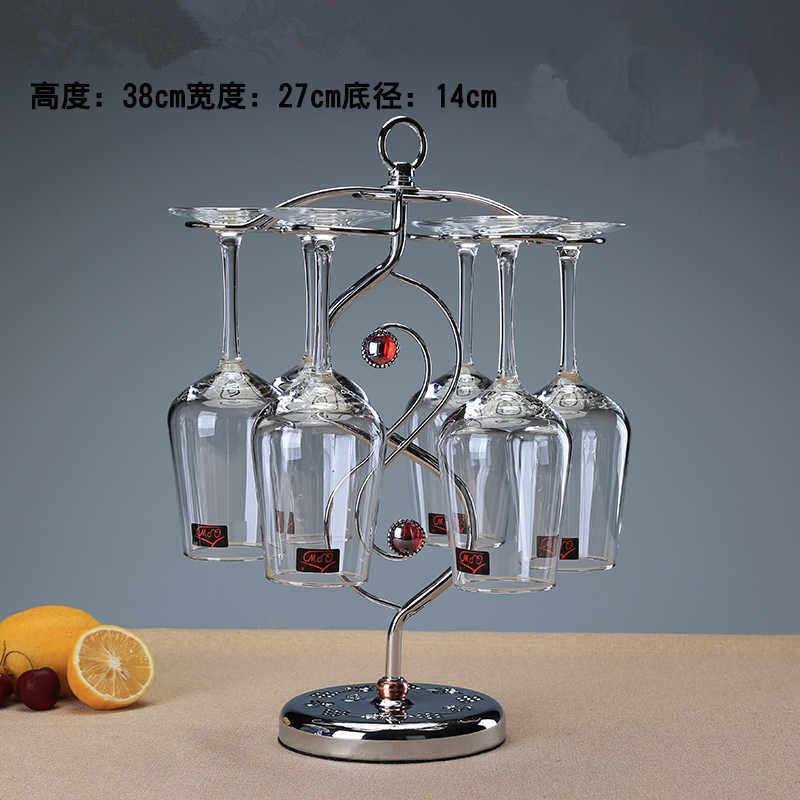 Стойка для стаканов для вина, металлическая стойка для стаканов