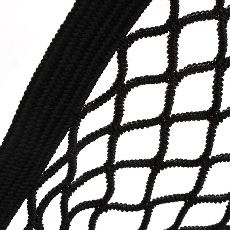 Universal Car Seat Back Storage Elastic Mesh Net Bag Luggage Holder