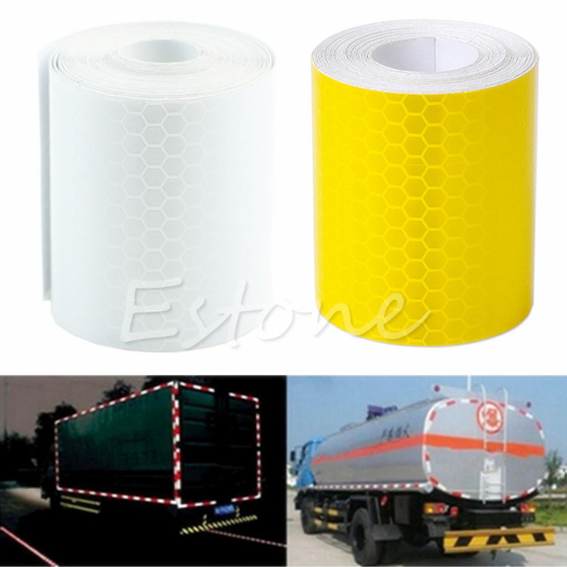 New colorful Reflective Safety Warning Conspicuity Tape Film Sticker 3M цены
