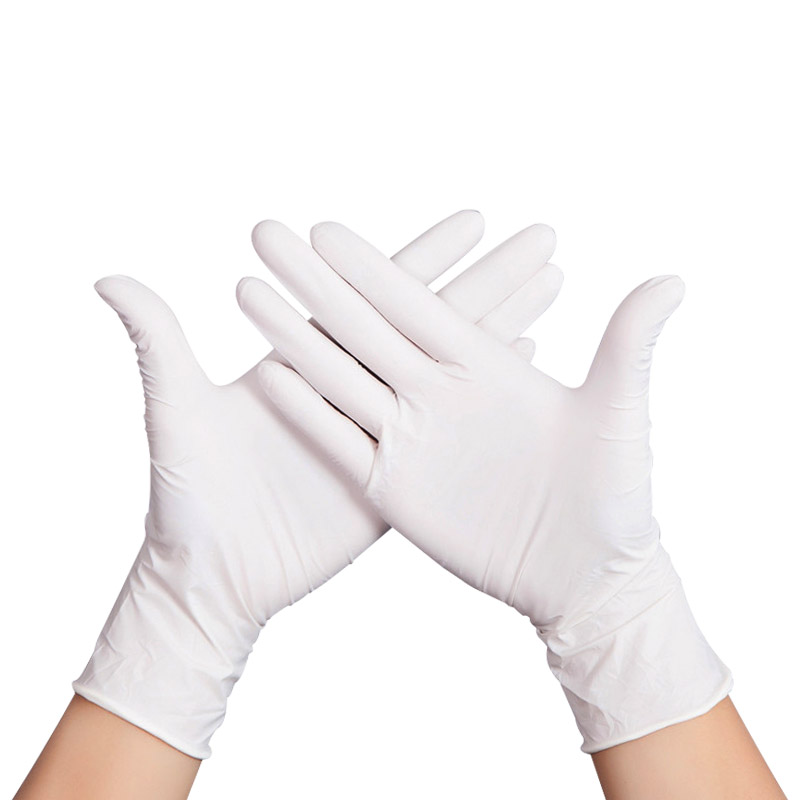100pcs Disposable Latex Gloves Used in Chemical and Medical Industry for Protection from Flu and Chemicals