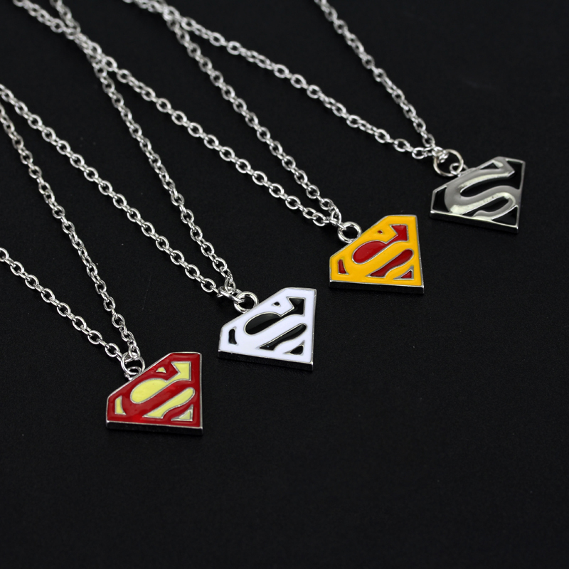 NEW Heroes Reborn Stainless Steel Silver Superhero Necklace Chain Pendent Gift