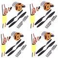 4set/lot Universal RC Quadcopter Part Kit 1045 Propeller(1pair) + HP 30A Brushless ESC + A2212 1000KV Outrunner Brushless Motor
