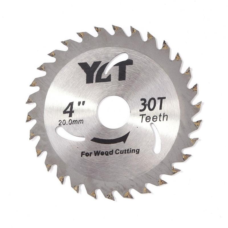 4inch 30T Woodworking Circular Saw Blade Stainless Steel Tipped Wood Cutting Disc