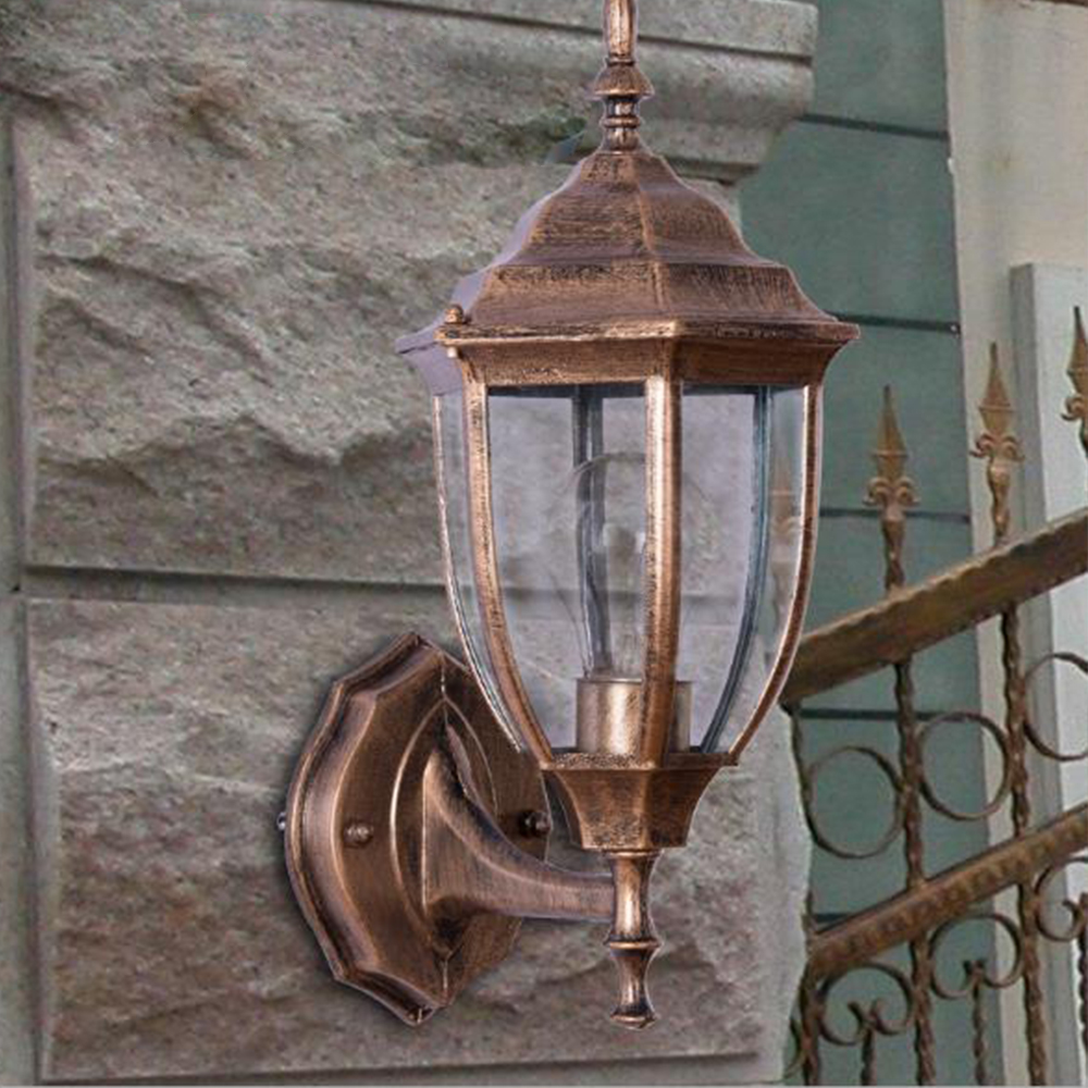 LEVOU Ao Ar Livre lâmpada de Parede 5/7/9/10 w Hexagonal IP65 para pátio do hotel varanda de iluminação À Prova D' Água decoração da lâmpada lampara exterior