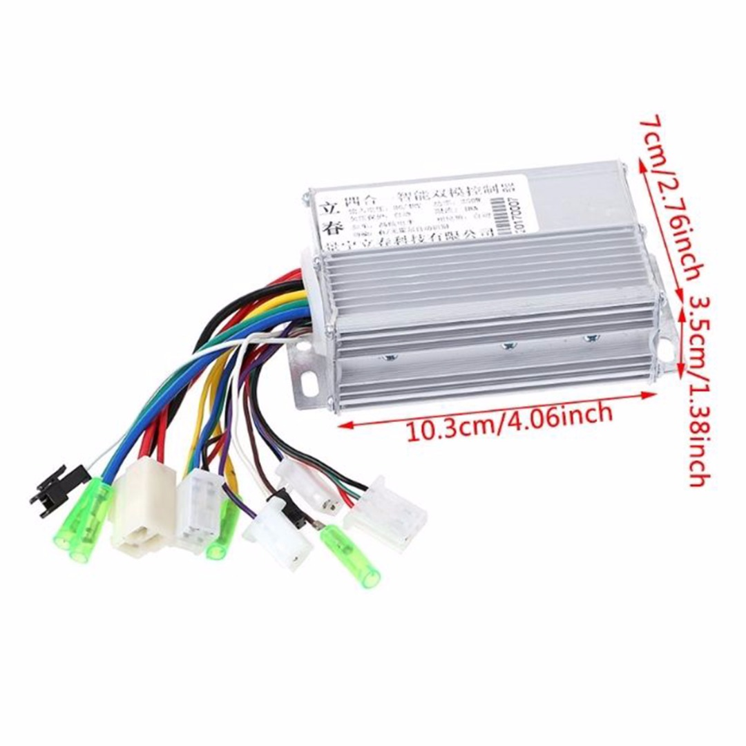 Electrical Equipments & Supplies Motor Controller Intelligent Dc 36v/48v 350w Dc Motor Controller Electric Bicycle E-bike Scooter Brushless Control With Aluminium Casing Pure And Mild Flavor