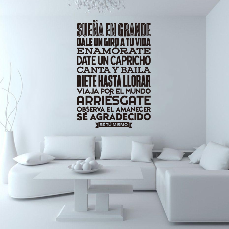 Наклейки Іспанська Se tu mismo Вінілові - Домашній декор - фото 5