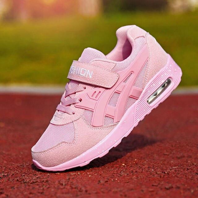 19fb6121a8803 PINSV Kids Boy Running Shoes Kids 2017 Boys Shoes Sneakers Girl Shoes  Krasovki Girl Tenisky Tenis Infantil Pink Size28-38