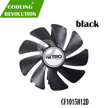 95MM CF1015H12D Gear LED Cooler Fan Replacement For Sapphire NITRO RX590 RX580 RX570 RX480 RX470 4N001-02-20G Graphics Card Fan(China)