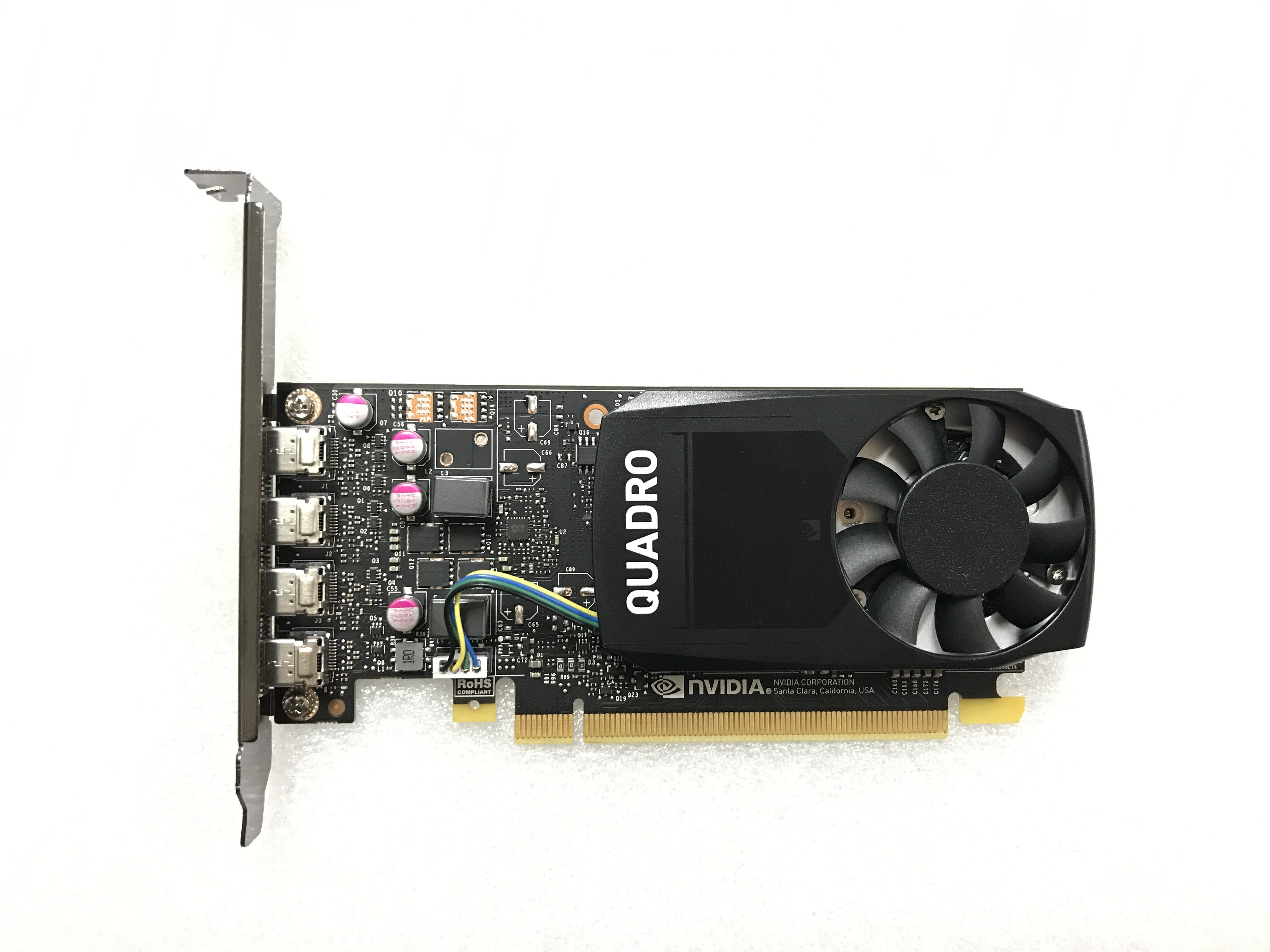 Quadro P1000 4G Professional Graphics Card Warranty For Three Years