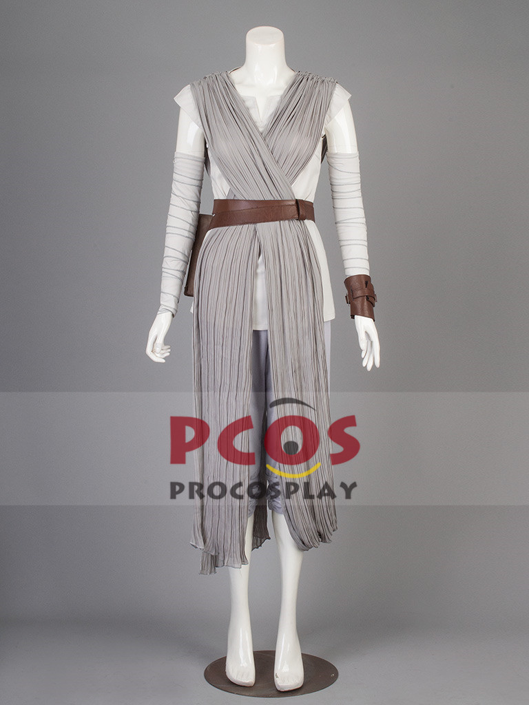 New Upgraded version~ Star Wars:The Force Awakens Rey Cosplay Costume mp003270