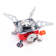 Gas Burner Camping Stove Tourist Equipment Lighter Outdoor Cooker Kitchen Propane Butane Gas Stove Hiking Fishing Camping Travel цена и фото