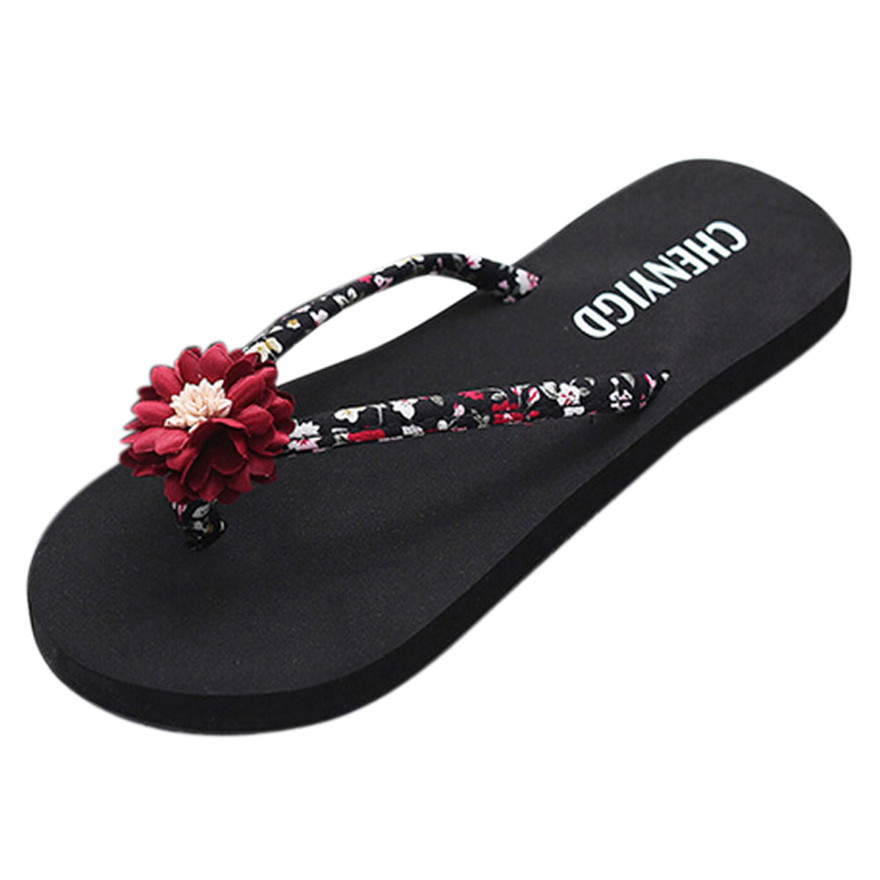 New Arrival Ladies Slim Women Beach Flip Flops Casual Slippers indoor & outdoor Slip-On Sandals Bath Slippers sapato masculino S