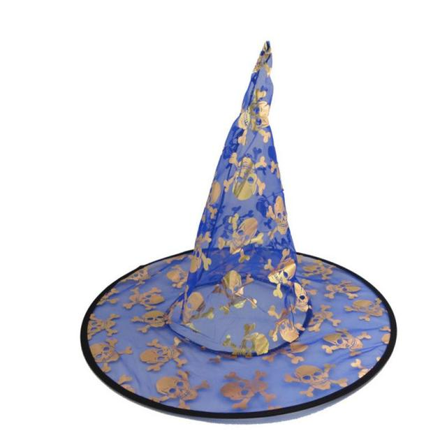 cff73b737d0 1Pcs Monolayer Adult Womens Witch Hat For Halloween Costume Accessory  Special design and unique structure halloween hat