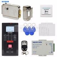 Diysecur Электрический замок отпечатков пальцев ID Card 125 кГц RFID считыватель пароль дверной Система контроля доступа комплект для офиса/дом
