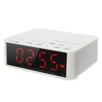 새로운 도착 디지털 알람 시계 블루투스 스피커 FM 라디오 Mp3 플레이어 TF 카드 슬롯 데스크톱 시계