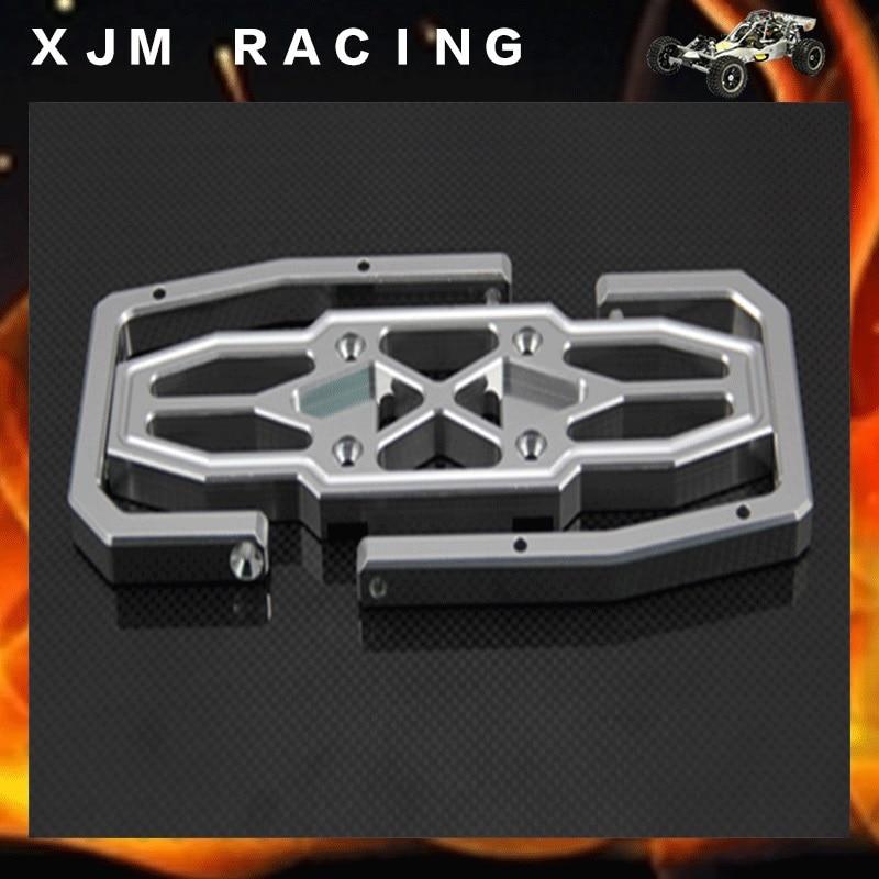 GTB Racing Alloy rear bumper for 1/5 rc car baja 5b/5t/5sc toy parts gtb racing alloy enclosed clutch cover for 1 5 rc car baja 5b 5t 5sc engines parts