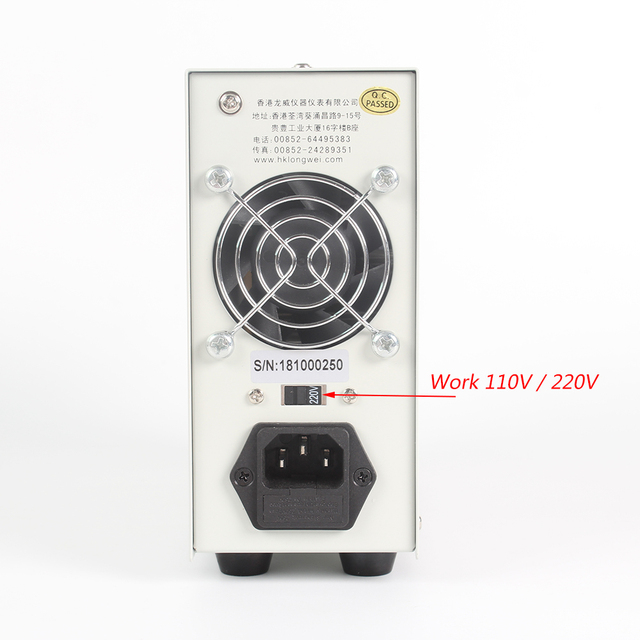 DC Power Supply LW-K605D 60V 5A Mini Digital Display Adjustable Laboratory Integrated Circuit Regulated Switching Power Supply Switching Power Supply