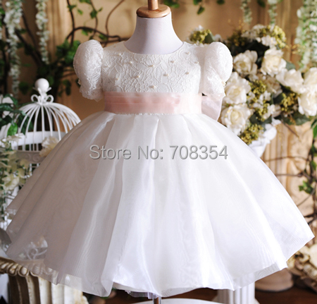 Flower     Girl     Dress  ~  Girl's   Beading Ball Gown Formal   Dress  /Children's Performance   Dress   116