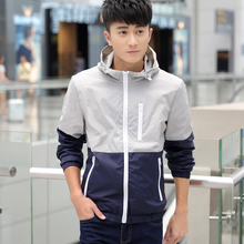 Spring 2017 new men's coat, summer jacket movement, spring and Autumn Edition, trend thin, sun clothing, youth