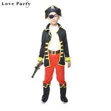 d7c045692a3be Garçons De Mode Cosplay Costume Enfants Halloween Performances De Mascarade  Pirate Vêtements Enfants Costume Party