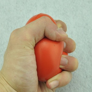 Image 4 - صغيرة على شكل قلب الإجهاد الإغاثة الكرة ممارسة الإجهاد الإغاثة ضغط مطاطا المطاط لينة رغوة الكرة العاب كروية