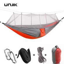 Ultralight Parachute Hammock Hunting Mosquito Net Double Person Sleeping Bed Drop Shipping Outdoor Camping Portable Hammock ultralight mosquito net hunting hammock camping mosquito net travel mosquito net leisure hanging bed for 2 person outdoor