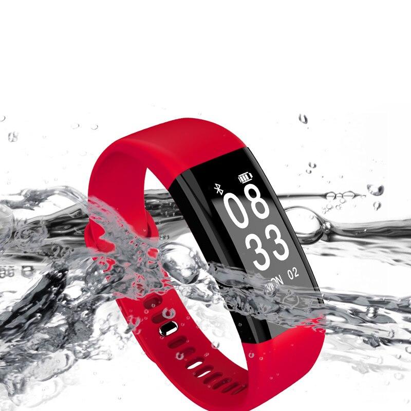 Для женщин Спорт LED умный браслет наручные часы розовый Интеллектуальные открытый Часы удобный часы Новая мода электронные часы Светодиодн