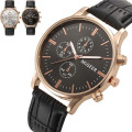 Fashion Crocodile Faux Leather Mens Casual Watches Top Brand Quartz Analog Watch Clock Luxury Men Business WristWatches Relogio