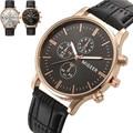 Fashion Crocodile Faux Leather Mens Casual Watches Top Brand Quartz Analog Watch Clock Luxury Men Business WristWatches Relogio