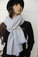 new arrivals 100%goat cashmere knit women scarfs shawl pashmina neutral color 55/60x195/200cm