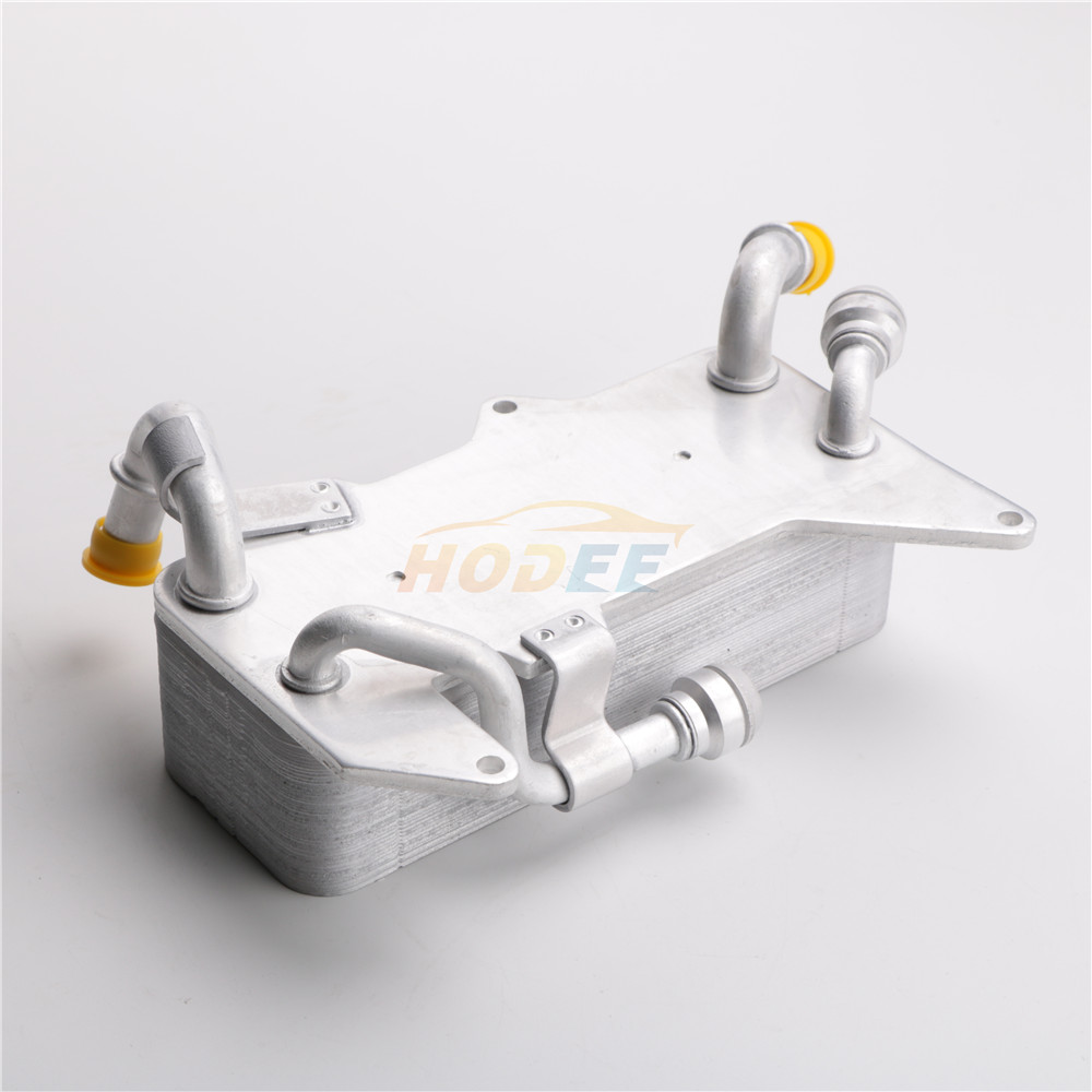 HODEE Oil Cooler For <font><b>Audi</b></font> <font><b>A8</b></font> <font><b>4H</b></font> A6 4G A7 OE:4H0317021H image