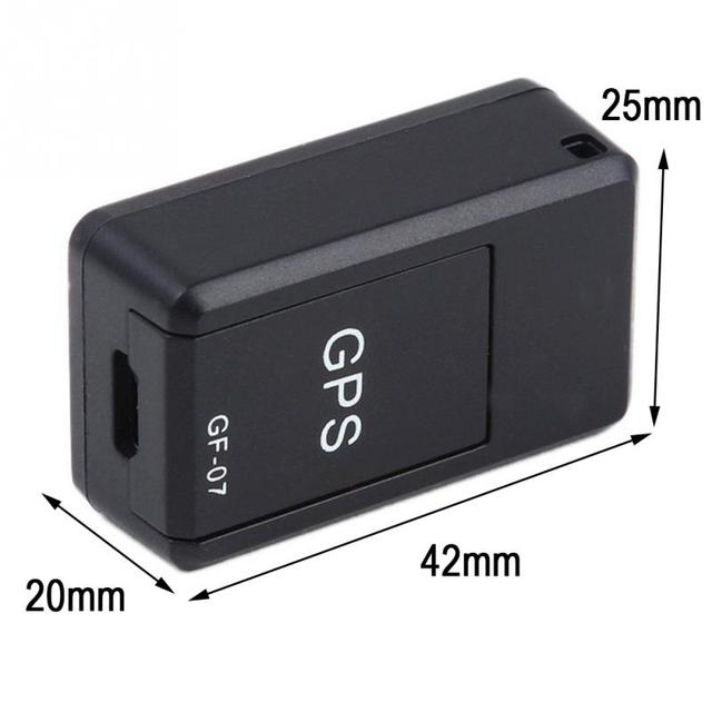Mini Car GPS Tracker auto GF-07 Magnetic Tracking Device For Vehicle/Car/Person/dog GPS locator