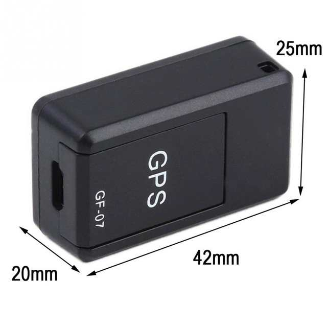 Tracking Device For Car >> Mini Car Gps Tracker Auto Gf 07 Magnetic Tracking Device For Vehicle Car Person Dog Gps Locator