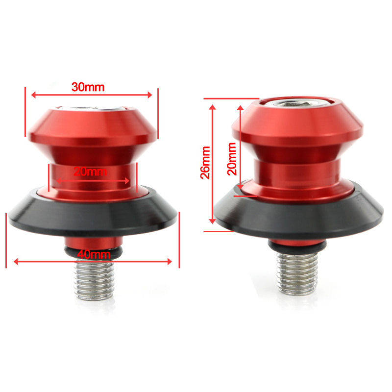 For Ducati 1299 PANIGALE 2013 2018 959 PANIGALE 2016 2017 2018 Motorbike CNC Aluminum Alloy Swingarm Stand Bobbins Spools Slider in Falling Protection from Automobiles Motorcycles