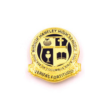 The factory custom gold badges high quality zinc alloy die casting metal