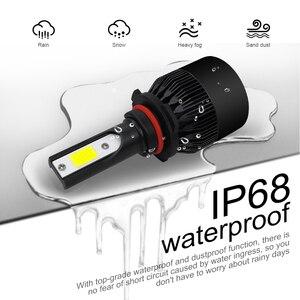 Image 4 - LSlight Phares الحنطور أمبولة LED H4 H7 H11 H1 H8 9005 9006 HB2 HB3 12V 60W 6000K 12000LM توربو مصباح أمامي LED للسيارات ضوء لمبة