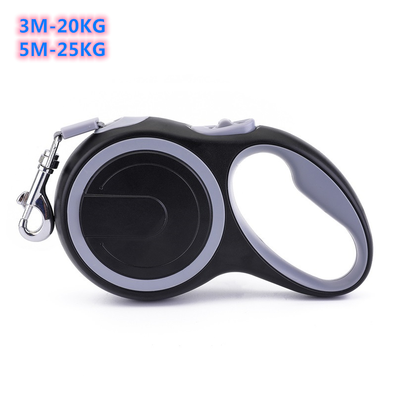 New Durable 3M 5M 20KG 25KG 50KG Dog Leash Automatic Retractable Products For Small Big Large