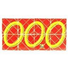 LeadingStar Lingao Mini 8 Panels 3 Rings Red Magic Folding Puzzle Cube Twisty